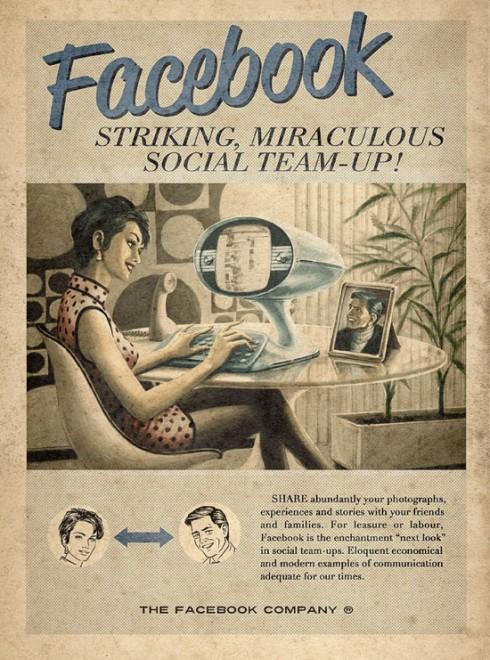 Instant Vintage Facebook Ad - Classic!